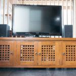 既存のTVボードは中を改造。